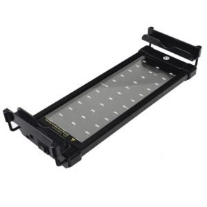Mingdak LED Aquarium Light, Fish Tank Light with Extendable Brackets, White and Blue LEDs