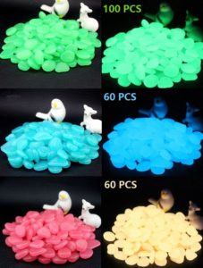 Glow in the Dark Pebbles for Fish Tank