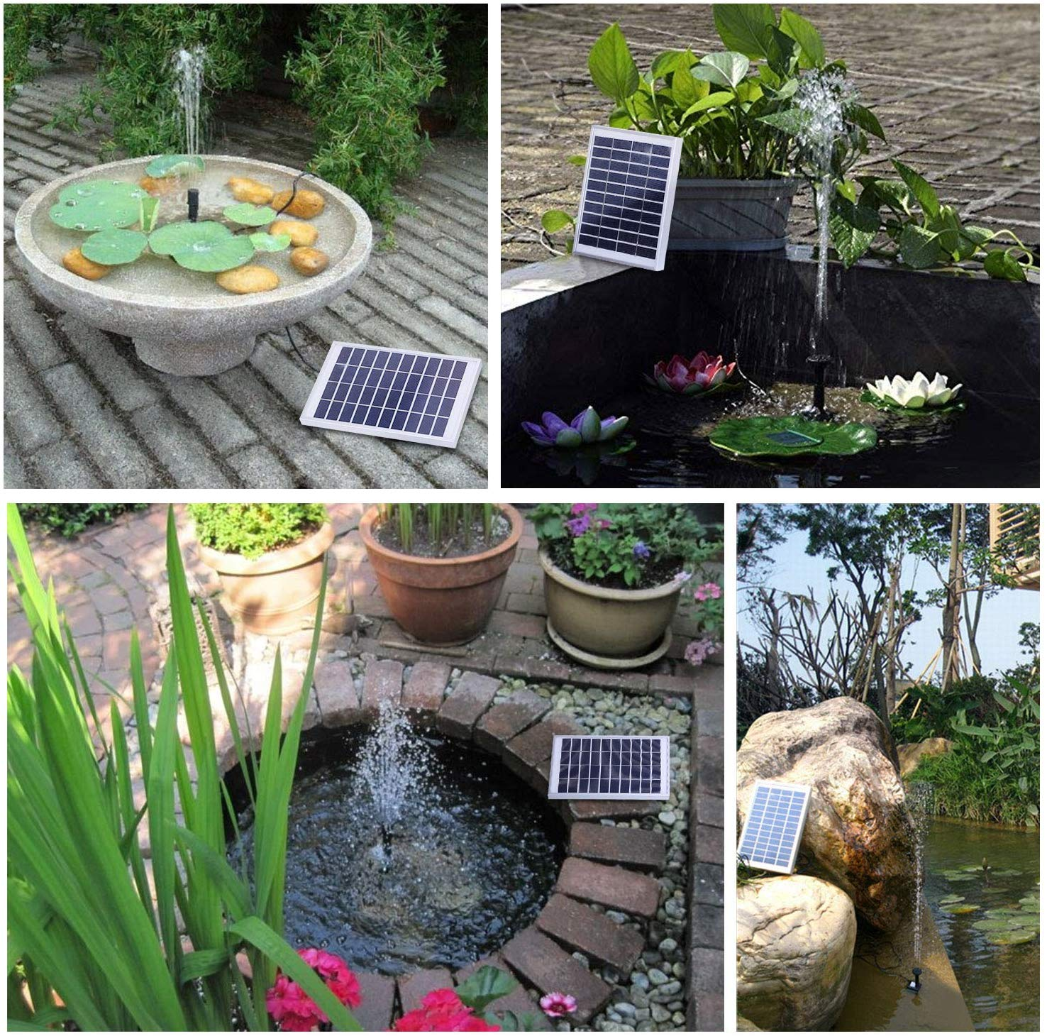fish pond solar pump