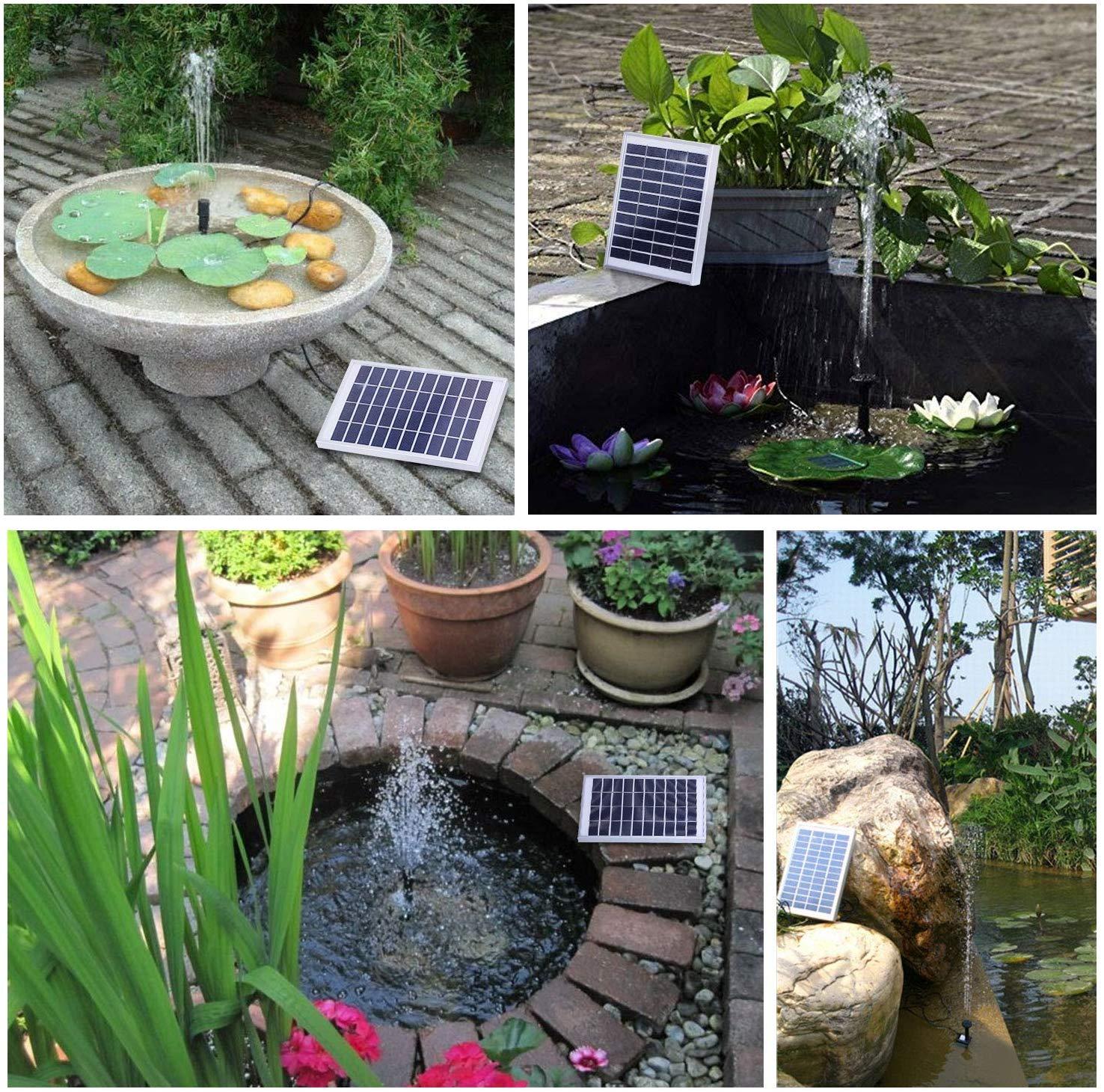 fish pond solar pump